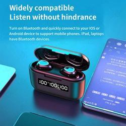 Yinrunx Bluetooth Headphones Bluetooth Earbuds Wireless Ear Buds Auriculares Bluetooth Earbuds Noise Cancelling Waterproof Earbuds Bluetooth Headphones Wireless G40 5.0 Bluetooth Wireless Earbuds