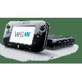 Refurbished Nintendo Wii U WiiU Black Console 32GB Deluxe Gamepad Cables Sensor Bar