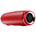 Portable Bluetooth Speakers Wireless and Waterproof Deep Bass Subwoofer Perfect for Parties, Travel, Outdoor, Home, Shower Red