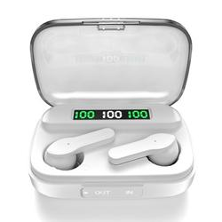 Wireless Earbuds, Bluetooth 5.1 Wireless Earbuds, LED Display Wireless Bluetooth Headphones, Bluetooth Earbuds in-Ear with Charging Case, Waterproof Touch Sports Wireless Headphone for Gym