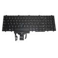 383D7 Genuine Latitude 5580 Backlit US-English Laptop Keyboard