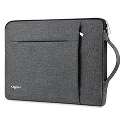 Kogzzen 13-13.5 Inch Laptop Sleeve Shockproof Lightweight Case Carrying Bag Compatible with MacBook Pro 13 inch/MacBook Air 13.3/ Dell XPS 13/ Surface Laptop 13.5/ iPad Pro 12.9 - Gray