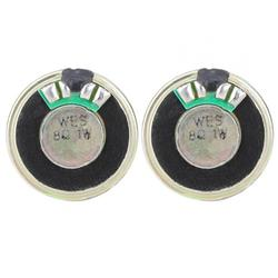 Tebru 2pcs 8ohm 1W Speaker Horn Audio Stereo Loudspeaker 28mm Diameter,Speaker, Loudspeaker