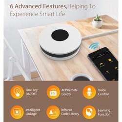 Smart WiFi IR Remote Control Smart Infrared Universal Remote Controller Universal IR Remote Control Home Office WiFi Voice Control Infrared Remote Control for Air Condition/Fan/TV - by YY.Home