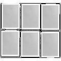 """Polk High-Performance 6.5"""" 2 Way Natural Surround Sound Architectural In-Wall Speaker System (Set Of 6)"""
