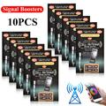 JuLam 10 x Cell Phone Signal Boosters for Cell Phones Two Way Radios PDA's Walkie Talkies Beeper, and Even Cordless Phones in Your House