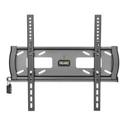 """Heavy-Duty Fixed Security Wall Mount for 32"""" to 55"""" TVs and Monitors, Flat or Curved Screens, UL Certified"""