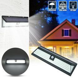 Solar Motion Sensor Light Outdoor - New Upgrade 118 LEDs Solar Lights Outdoor,Motion Solar Lights Outdoor Waterproof,Led Solar Lights Outdoor Motion Sensor,Super Bright Solar Sensor Lights