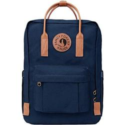 KALIDI Casual Backpack for Women,15 Inches Laptop Classic Backpack Camping Rucksack Travel Outdoor Daypack College School Bag (Dark Blue-Canvas)