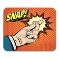 KDAGR Body Man Male Hand with Snapping Finger Magic Gesture Its Easy in Pop Style Snap Click Gesturing Arm Mousepad Mouse Pad Mouse Mat 9x10 inch