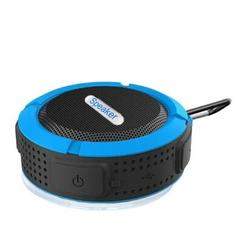C6 Portable Bluetooth Speaker,Wireless Portable Mini Speaker,Waterproof Bluetooth Speaker,Loud HD Sound,Shower Speaker with Suction Cup & Sturdy Hook,Compatible with IOS,Android,PC,Pad