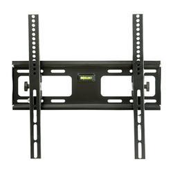 Metal Full Motion TV Wall Mount, Adjustable LCD TV Hanging Rack Fixed TV Frame Universal Television Stand 15° Tilt Angle TV Bracket