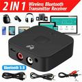 5.0 Bluetooth Audio Receiver Adapter,NFC Wireless Bluetooth Extender,3.5mm AUX or RCA Input Speaker,Amplifier, Car Audio,Headphone,Home Stereo Theater System,Stereo Audio Component Receivers