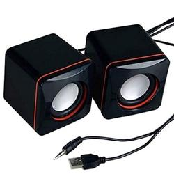 JANDEL Non-drives USB Computer Speaker, PC Speakers for Desktop Computer, Small Laptop Speaker with Hi-Quality Sound, Loud Volume and Rich Bass