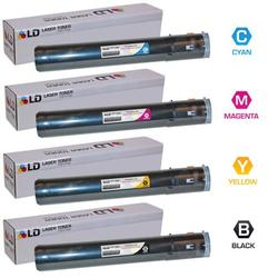 LD Compatible Replacements for Ricoh Aficio MP C2030 / C2050 / C2550 Set of 4 Laser Toner Cartridges Includes: 1 841280 Black, 1 841281 Cyan, 1 841282 Magenta, and 1 841283 Yellow