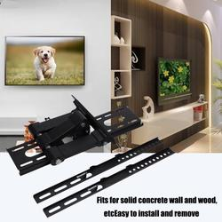 ACOUTO TV Wall Mount Stand,Universal Adjustable Wall Mount Stand Bracket Holder Rack for 17-55 inch LCD LED TV Display, TV Mount Bracket