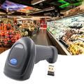 Chinatera Bluetooth Wireless Laser USB Barcode Scanner f/POS Laser Bar Code Reader