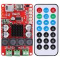 DOACT 50W+50W Portable Audio Receiver Amplifier TF Card Decoder with Remote Control Amplifier Boards