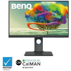 """Refurbished BenQ PD2700U 27"""" Ultra HD 3840 x 2160 4K Resolution 5ms (GTG) DisplayPort, HDMI, Mini-DisplayPort USB Hub Built-in Speakers LED Backlit IPS Monitor"""