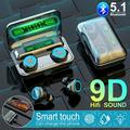 TWS Bluetooth Headphones Wireless 9D HiFi Stereo Sound Earphones Mini Earbuds
