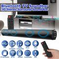 Soundbars for TV, EEEkit Sound Bar Speakers with Wired & Wireless Mode, 21 Inches Bluetooth Soundbar for Home Theater with Bass Subwoofers, RCA Connection and Remote Control