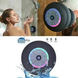 Waterproof Wireless Bluetooth Shower Speaker Portable Bluetooth Speaker Hands-free Car Portable Speaker