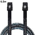 AUPERTO Cabled eConn Internal Mini SAS 36 Pin to SFF-8087 Cable in Black Mini SAS 36-pin zu SFF-8087