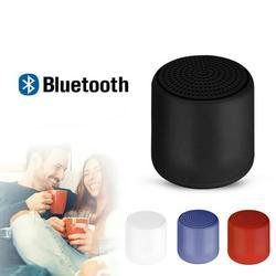 TWS Portable Bluetooth Speakers Waterproof Speaker Portable Mini Wireless Speakers Bluetooth Column-Red