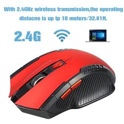 New Gaming Wireless Mice, 2.4GHz Wireless Optical Mouse, Gamer Mice with USB Receiver, Mouse Gamer Mice, USB Wireless mouse, Optical Computer Mouse, Ergonomic Mice for Notebook Desktop Laptop PC