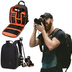 "Sixtyshades DSLR Camera Bag Waterproof Camera Case Backpack Rucksack For SLR/DSLR Camera, Lens and Accessories ""Orange"""