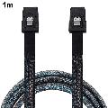 Cabled EConn Internal Mini SAS 36 Pin To SFF-8087 Cable In Black Mini SAS 36-pin Zu SFF-8087