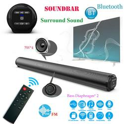 iPWSOO Sound Bar 21-Inch With 3D Stereo Surround Sound, Built in Subwoofer,With Remote Control,RCA/Aux/USB Input Bluetooth 5.0 Speaker Home Theater TV Speaker Sound Bar