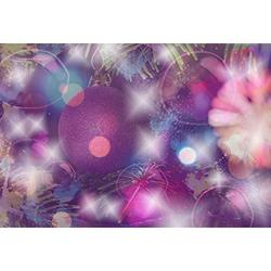 MOHome Polyster 7x5ft Photography Background Christmas Bauble Dreamy Halos Firworks Grunge Background Art Abstract Valentine Bokeh Lovers Girls Baby Children Birthday Party Holiday