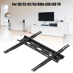 Tebru Solid 50KG Loading TV Wall Mount Bracket No Falling 30/32/42/55/60in LCD/LED TV Wall TV Mount, Wall Mounted TV Holder, Wall Monitor Mount