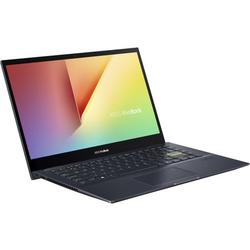 "Asus VivoBook Flip 14 14"" Full HD Touchscreen Laptop, AMD Ryzen 7 4700U, 8GB RAM, 512GB SSD, Windows 10 Home, Bespoke Black, TM420IA-DB71T"