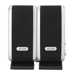 Computer Speaker, PC Speakers for Desktop Computer, Small Laptop Speaker with Hi-Quality Sound, Loud Volume and Rich Bass