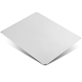 Aluminum Metal Mouse Pad Gaming Mouse Pad Aluminum Mouse Pad, Mouse Pad with A Smooth Precision Surface and Non-slip Rubber Base