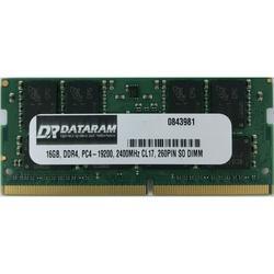 DATARAM 16GB DDR4 PC4-2400 SO DIMM Memory RAM Compatible with Lenovo THINKPAD P51