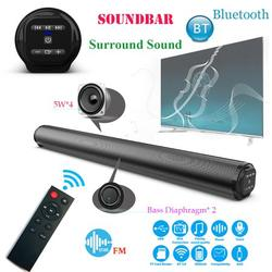 Sound Bar, Home Theater Stereo Speaker, Bluetooth 5.0 Audio Speakers Bass Sound Bar with Subwoofer,Support RCA/Aux/USB Input