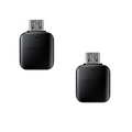 2 Pack of UrbanX Micro USB to USB 3.1 Adapter, Micro USB Male to USB-A Female, Uses USB OTG Technology, Compatible with Huawei P smart