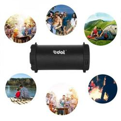 Shengshi EDAL Outdoor Indoor Wireless Bluetooth Speaker Home Party Stereo Music Bluetooth Speakers Black Portable Bluetooth Speaker Loud Wireless
