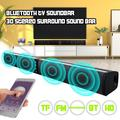 [Upgraded] Sound Bar 2020, EEEKit 3D Surround Sound Bars for TV Wireless and Wired Bluetooth Soundbar Home Theater Surround System Speakers