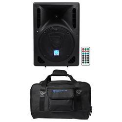 "Rockville RPG8BT 8"" Bluetooth Powered 400w DJ PA Speaker+Weather proof Carry Bag"