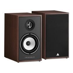 Triangle Borea BR02 Hi-Fi Bookshelf Speakers (Walnut, Pair)