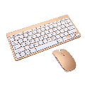 Wireless Keyboard and Mouse, Wireless Mouse and Keyboard Combo,2.4GHz Silent Wireless Keyboard Mouse Combo for PC Desktops Computer, Laptops, Windows TYRANT GOLD