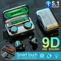TWS Bluetooth Headphones Wireless 9D HiFi Stereo Sound Earphones Mini Earbuds UK
