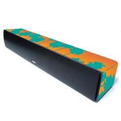 Tropical Skin For ZVOX AccuVoice TV Speaker Model AV155 Protective, Durable, and Unique Vinyl Decal wrap cover Easy To Apply, Remove, and Change Styles Made in the USA