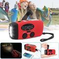 TSV Portable Emergency Radios, Red, 088plus