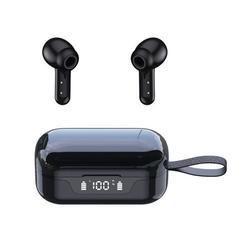 ANC Noise Reduction Wireless Earphone Bluetooth5.1 TWS Waterproof Earpieces Double Sides In-ear Earphone