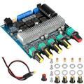 Bluetooth Amplifier Board TSV Audio Amplifier Board 100W+50W+50W Bluetooth Speaker Board Small Amplifier, DC 12-24V